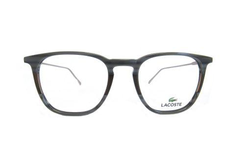 Lacoste- square gray smoke / brown