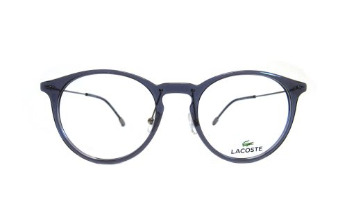 Lacoste- Blue/ gray clear round
