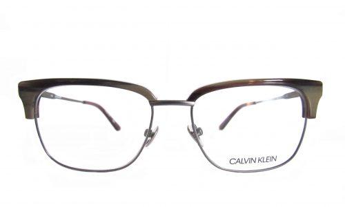 Calvin Klein - wood grain top / wire bottom