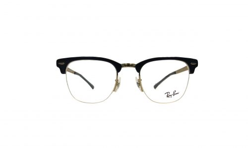Rayban wayfair navy blue and gold